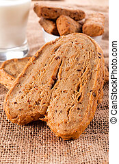 Fitnes pastry - Healthy and low fat whole grain pastry