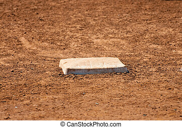 Baseball field first base - Baseball Field first Base with...