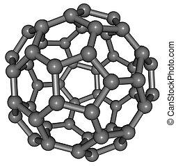 footballc60 - Fullerenes consist of 20 hexagonal and 12...