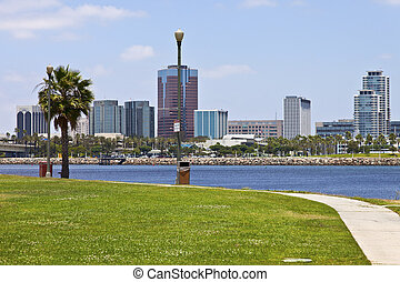 Long Beach California - Long Beach California from across...