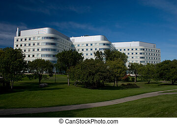 City of Saskatoon Hospital - Saskatoon hospital and park.