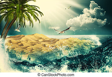 Beauty Ocean, beauty natural backgrounds for your design