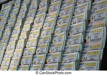 Thai Lottery Ticketof 4 million bahts for Winner in each...