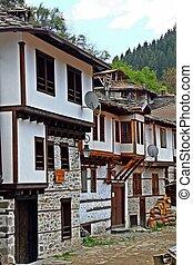 Village of Shiroka Laka,Bulgaria - Old houses from the XVI...