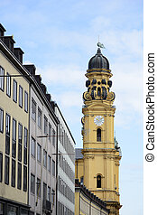 Theatine Church - Theatine church Theatinerkirche in Munich...