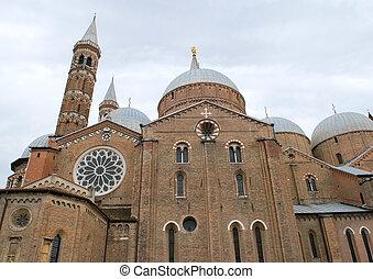 italy padua s.antonio church - view of italy padua s.antonio...