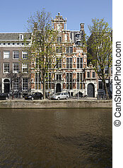 Amsterdam, Netherlands - Old houses