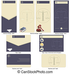 lawyer template design