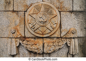 Soviet Emblem at Treptower Park - Soviet Embled at Treptower...