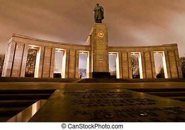 Soviet War Memorial in Berlin Tiergarten