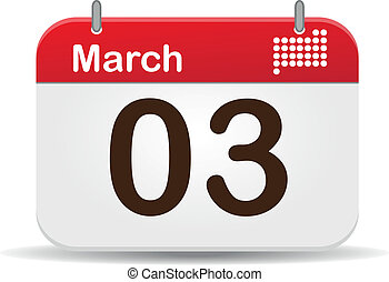 Calendar - 03 March Calendar,US National Anthem?s Day.