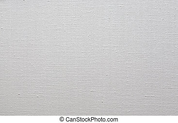 Primed linen canvas for oil painting