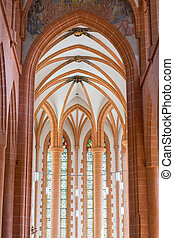 Church Holy Spirit in Heidelberg Germany - Arches and...