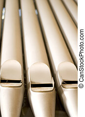 Organ pipes - Big organ pipes