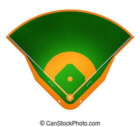 baseball, pole