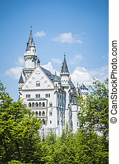 Castle Neuschwanstein Bavaria Germany - The fairytale Castle...