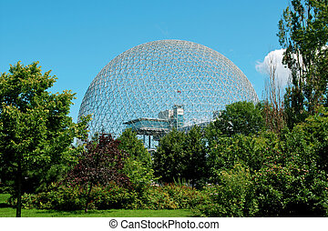Biosphere - The geodesic dome called Biosphere is a museum...