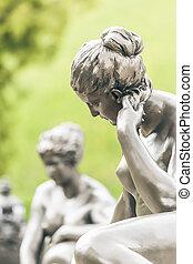 mujer, Escultura