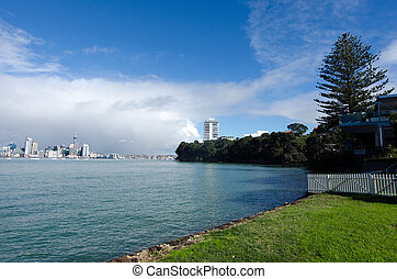 Devonport, New Zealand - Takapuna beach in Devonport, New...