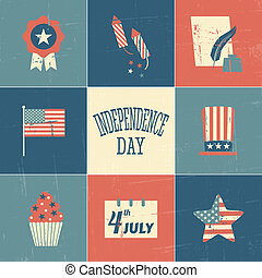 Independence Day Cards Collection