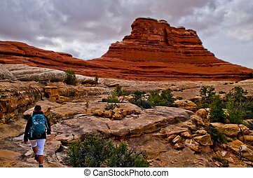 Hiking the Canyonlands