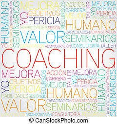 Coaching concept related words in t