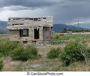 Shack in Wyoming
