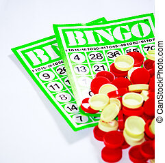 Bingo is a game of chance played with randomly drawn numbers...