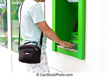 Electronic banking, ATM - Electronic banking, credit card by...