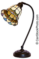 Tiffany Stained Glass Table Lamp - Tiffany Stained Glass...