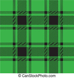 green plaid pattern for background