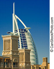 Burj Al Arab - The Burj Al Arab Hotel in Dubai, UAE, taken...