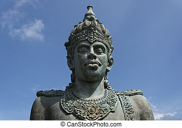 Vishnu - a huge statue of Vishnu in Bali