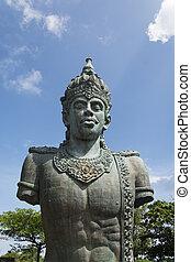 Vishnu  - a huge statue of Vishnu in Bali