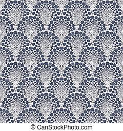 Bold geometric pattern in art deco style