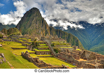 Machu Picchu - Georgeous MAchu Picchu one of the modern...