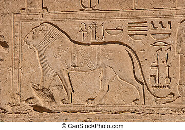 Temple of Karnak, Egypt - Exterior elements