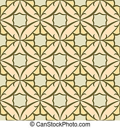 Seamless Tile Pattern, Oriental Style Repeating and Scalable...