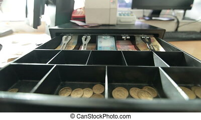 Open cash drawer