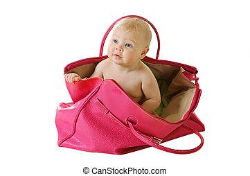 csecsemő, táska