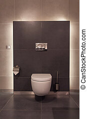 Woodland hotel - Toilet - Woodland hotel - Modern toilet in...