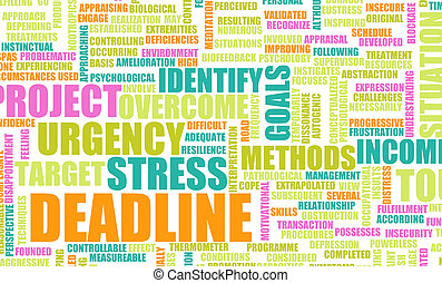 Deadline in the Work Place and Growing Stress