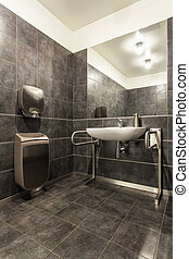 Woodland hotel - Bathroom for the disabled