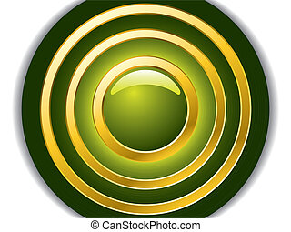 Hypnotizing Green - Hypnotizing green abstract background...