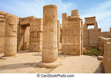 Temple of Karnak.  Luxor, Egypt