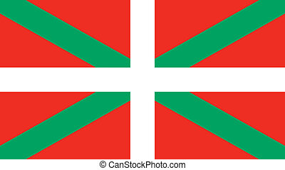 Basque Country flag - Vector Basque Country flag