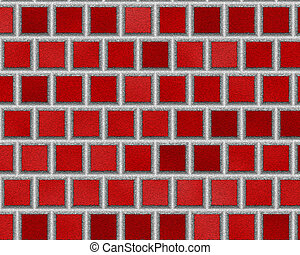 red seamless ceramic tiles, abstract texture