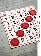 Ganhar, Bingo, cartão
