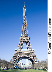 Eiffel tower (Tour Eiffel) in Paris