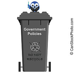 Government Policies - Comical Government Policies garbage...